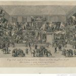 The Pietro Antonio Martini painting View of the Salon of 1785