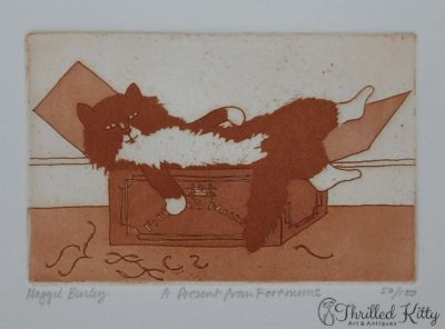 'A Present From Fortnum's' by Maggie Burley | Limited Edition Etching