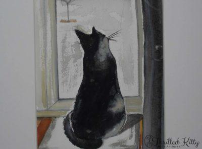 'Bird Watching' by Karen Spooner | Watercolour