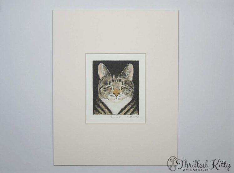 Cat nap by Kay McDonagh-Contemporary Print-2