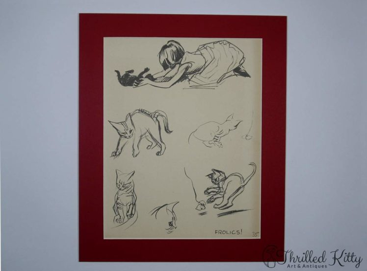 Frolics by J H Dowd-Childrens Illustration-1934-2