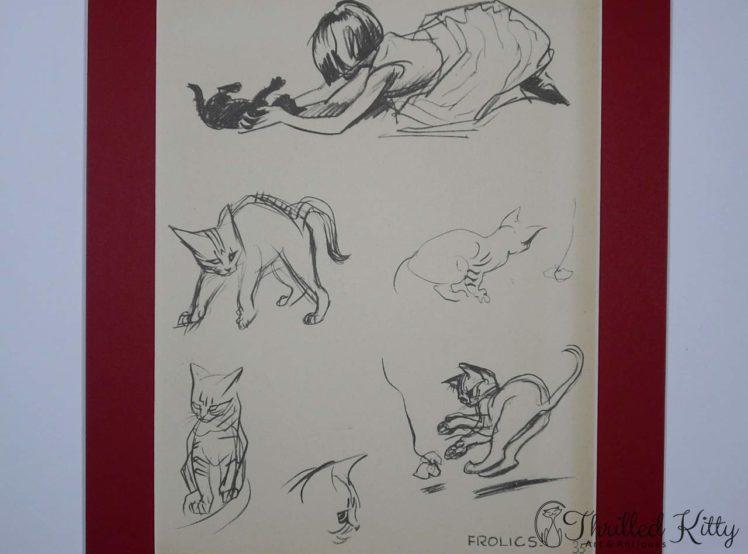 Frolics by J H Dowd-Childrens Illustration-1934-4