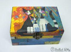Handmade Découpage Box by Didi Andreeva