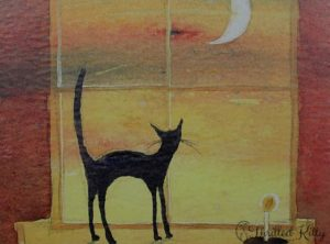 'Looking Out' by Keli Clark | Signed Giclée Print