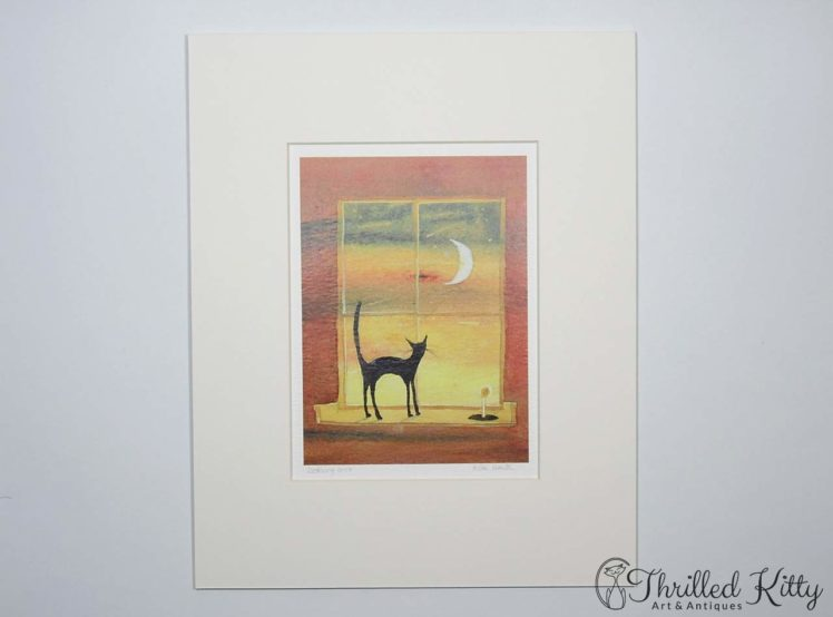 Looking Out by Keli Clark-Signed Giclee Print-2
