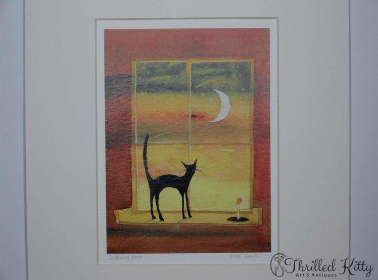 Looking Out by Keli Clark-Signed Giclee Print-4