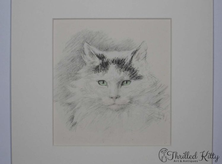 Pudgy by Lucy Dawson-Hand Coloured Print-1946-4