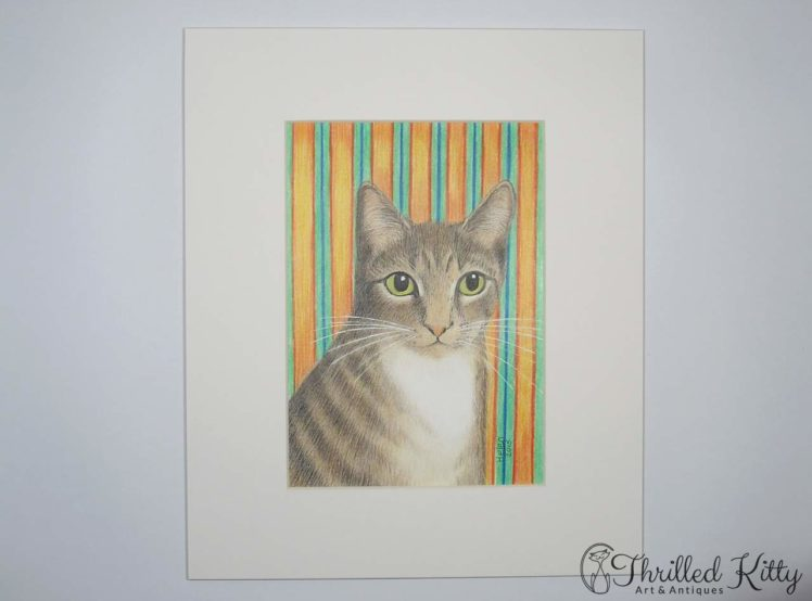 Simon Kitty Cat by Helen V James-Pencil-2