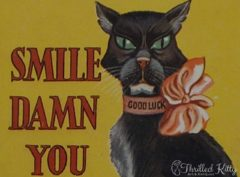 'Smile, Damn You, Smile' by Bob Wilkin | Postcard | 1930s