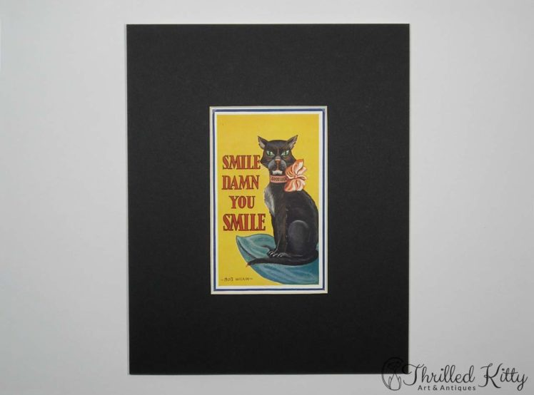 Smile, Damn You, Smile by Bob Wilkin-Postcard-1930s-2
