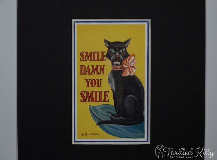 Smile, Damn You, Smile by Bob Wilkin-Postcard-1930s-4