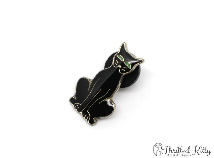 Cloisonne-Black-Cat-Green-Eyes-Lapel-Pin-3