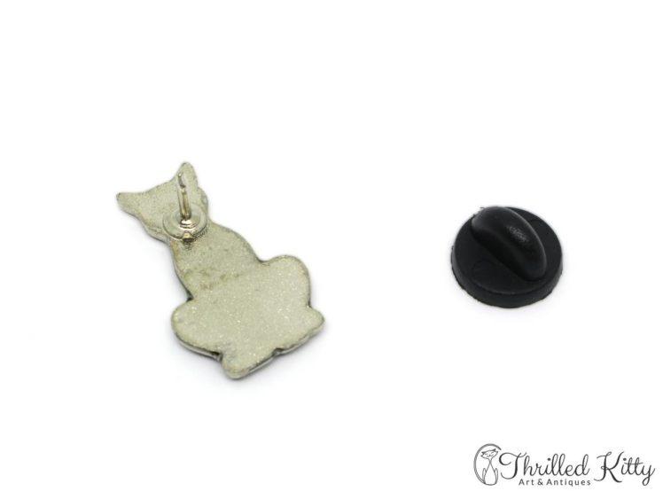 Cloisonne-Black-Cat-Green-Eyes-Lapel-Pin-4