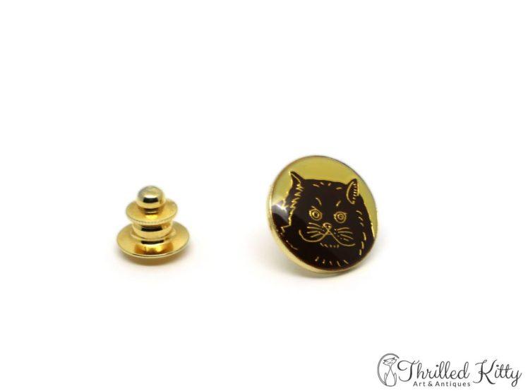 Vintage-Cloisonne-Persian-Cat-Lapel-Tie-Pin-3