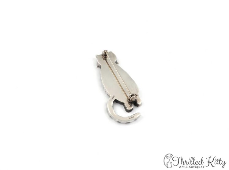 Fabulous-Stripey-Cat-Brooch-Hallmarked-Silver-5