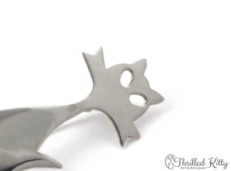 Stylised-Modernist-Cat-Brooch-Silver-7