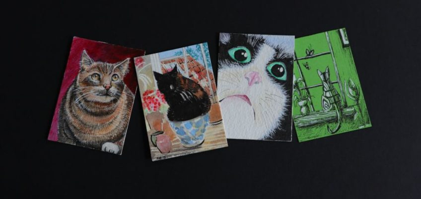 What is an ACEO painting?