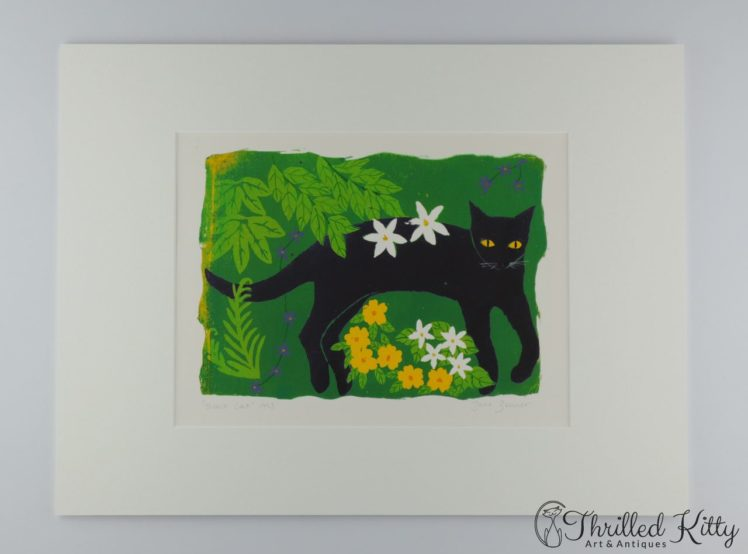 Black-Cat-1993-by-Jane-Zeuner-Silkscreen-6