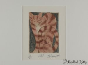 'Cat II' by Hildegard | Limited Edition Print