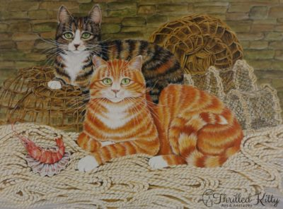 'The Fisherman's Favourites' by Fiona Hughes   Limited Edition Fine Art Print