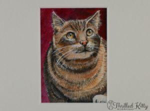 'Cat on the Prowl' by David Laurence | ACEO