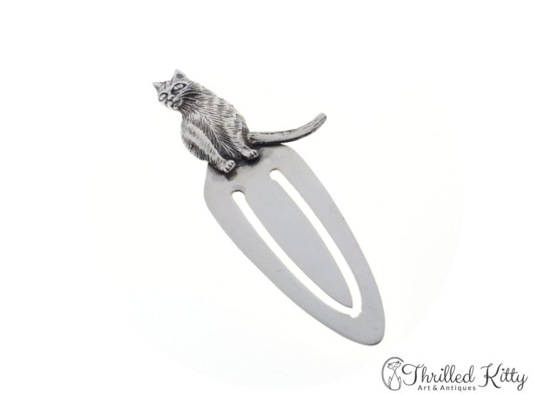 detailed-sitting-cat-silver-bookmark-10