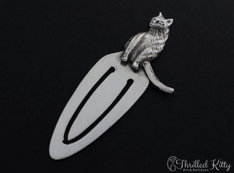 detailed-sitting-cat-silver-bookmark-2