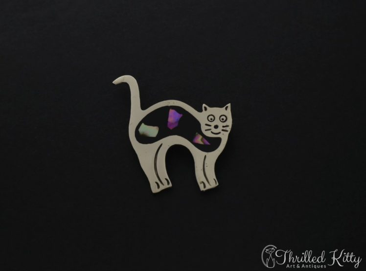 mexican-alpaca-abalone-cat-brooch-1
