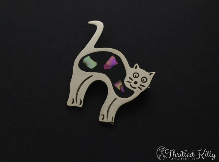 mexican-alpaca-abalone-cat-brooch-2