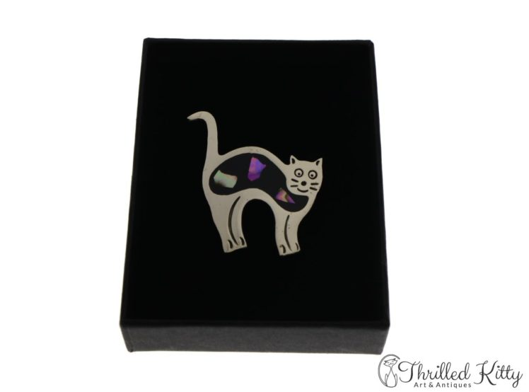 mexican-alpaca-abalone-cat-brooch-5