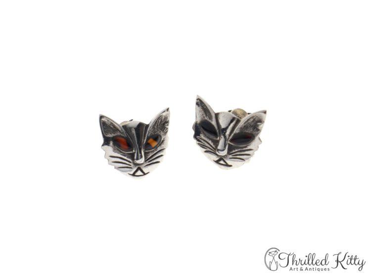 vintage-scandinavian-modernist-silver-cat-earrings-5